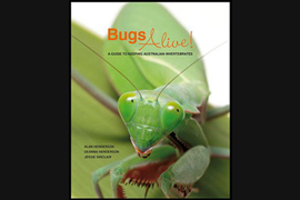 Bugs Alive cover - images by Alan Henderson
