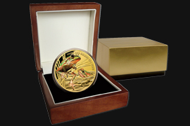 Golden Bell frog Gold coin